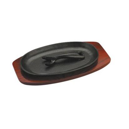 "Oval Sizzle Platter 8.9x5"" (22.5x12.5cm)"