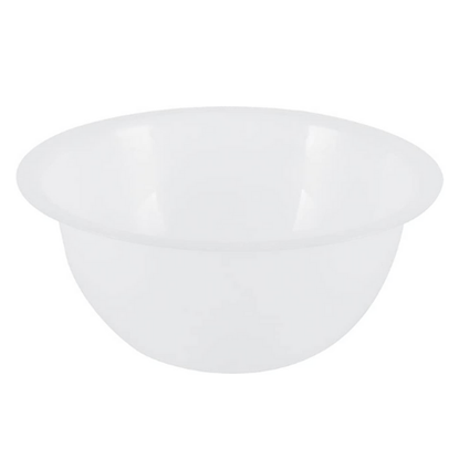 Heavy Duty Plastic Mixing Bowl With Flat Base 6L