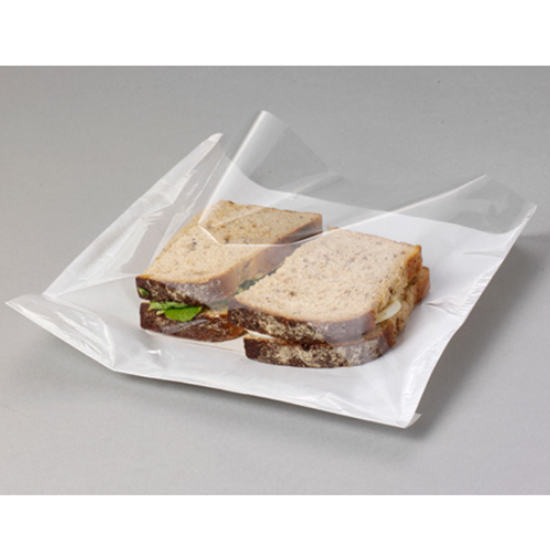 Film Fronted Paper Bags, Clear P/Prop Front, White Back 250x250 Mm
