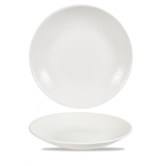 "Churchill Isla White Deep Coupe Plate 11"" (28.1cm)"