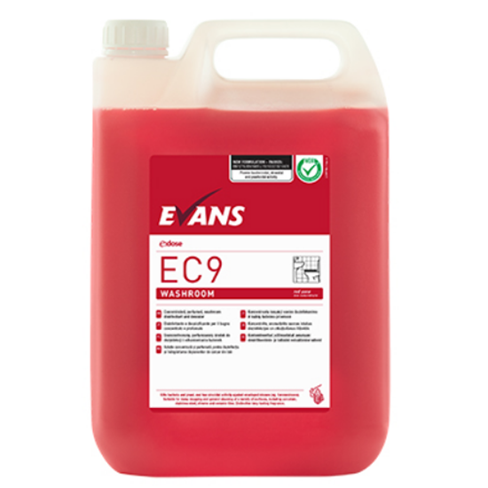 Evans Ec9 Washroom To Refill Dosing Bottle 5L