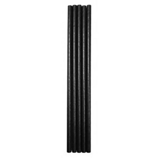 Black Paper Straw 20cm