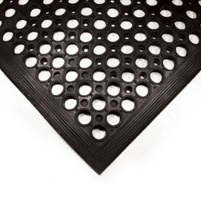 """Rubber Floor Mat 59x35.4x0.5"""" (150x90x1.2cm)"""