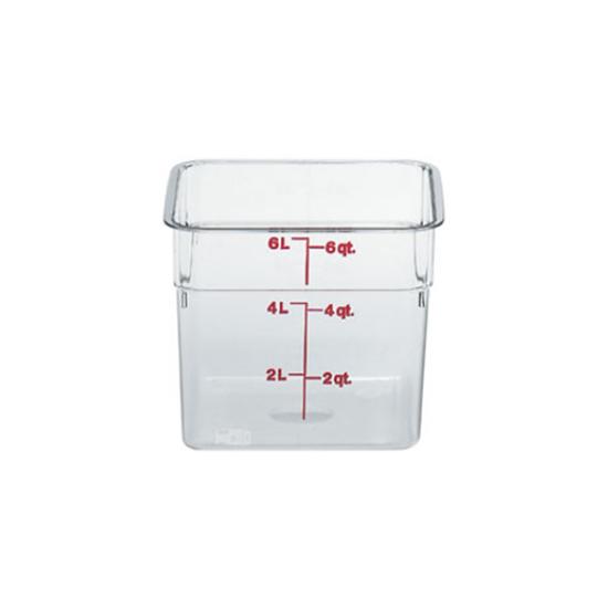 Square Food Storage Container 6L