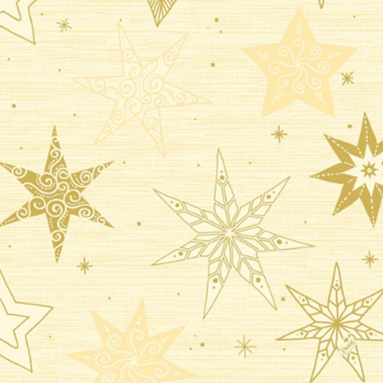 Cream Star Stories Napkins 3ply 40x40cm
